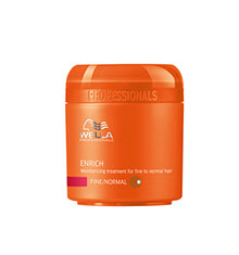 Wella Enrich Moisturising Mask Fine/Normal 150ml