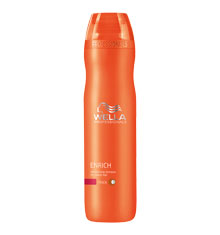 Wella Enrich Moisturising Shampoo Coarse 250ml