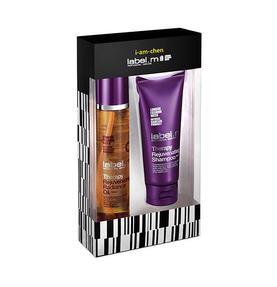 label.m i-am-chen Therapy Oil & Shampoo Duo