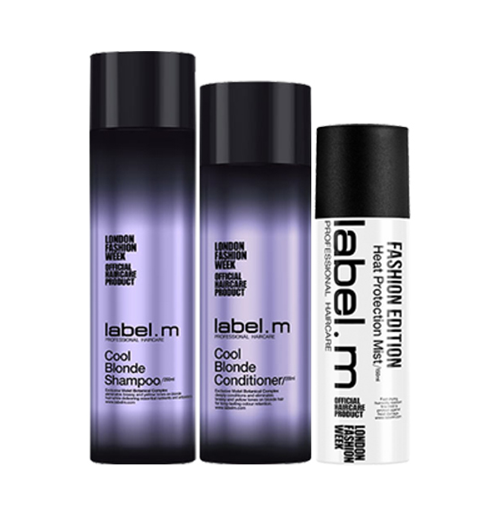 label.m Cool Blonde Gift Set