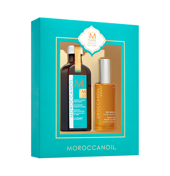 Moroccanoil 10 Year Anniversary Treatment Light & Body Oil