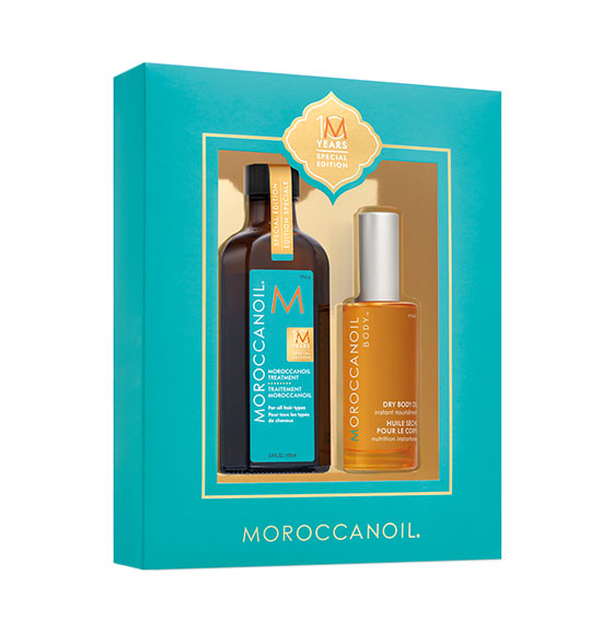 Moroccanoil 10 Year Anniversary Treatment Original & Body Oil