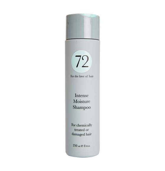 72 Hair Intense Moisture Shampoo 250ml