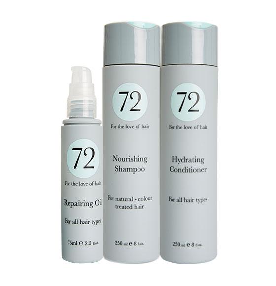 72 Hair Nourishing & Hydrating Bundle