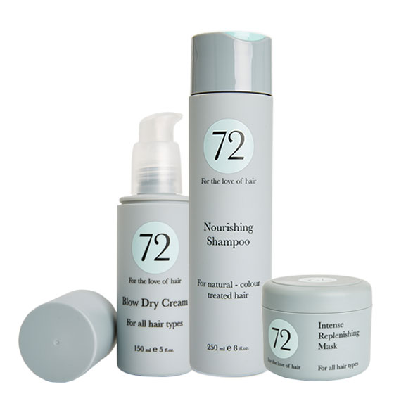 72 Hair Nourishing & Replenishing Bundle
