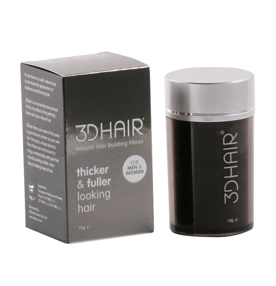 3D Hair Loss Natural Building Fibres 10g