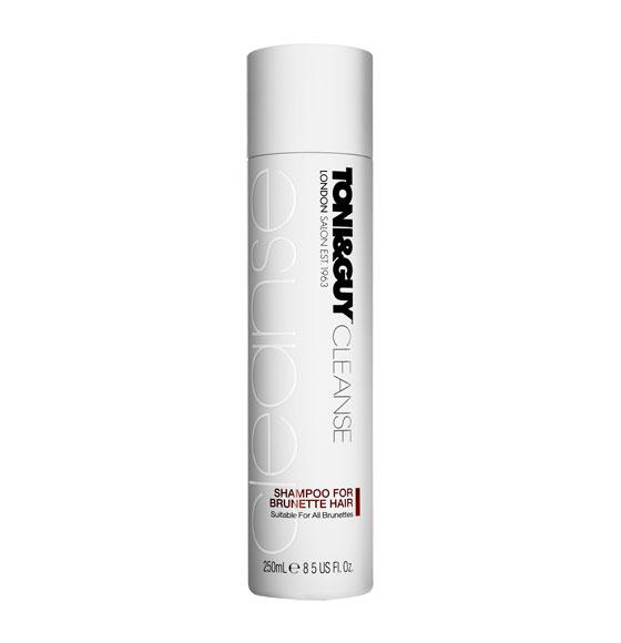 Toni Amp Guy Cleanse Shampoo For Brunette Hair 250ml Toni