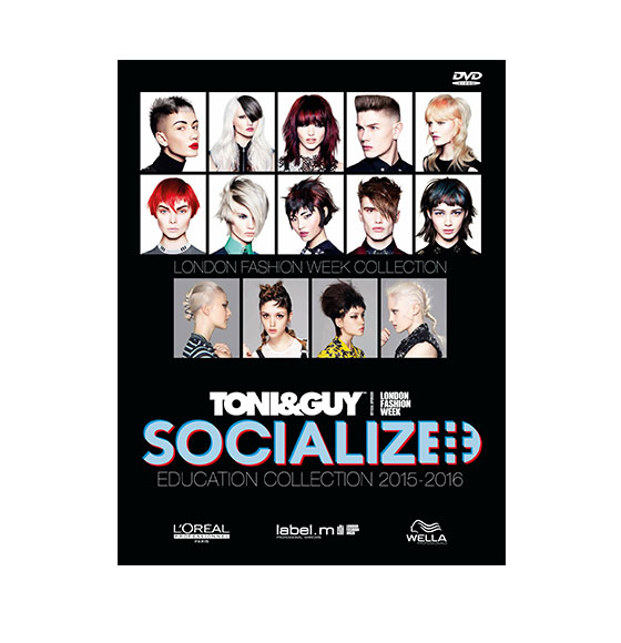 TONI&GUY Socialized DVD 2015/16