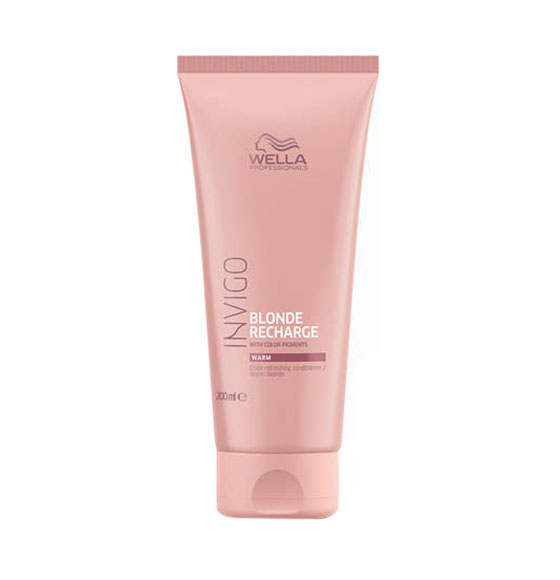 Wella Invigo Blonde Recharge Warm Blonde Conditioner
